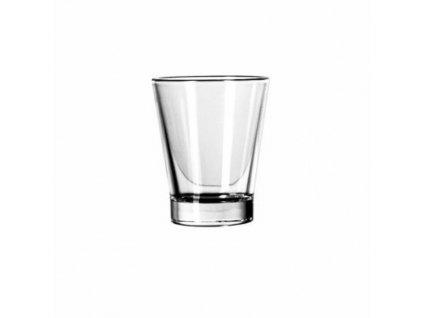 sklenička na vodu ke kávě