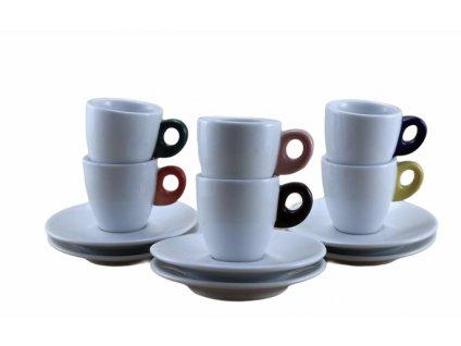 GIACINTO COLORE Caffè - SET 6 ks 65 ml