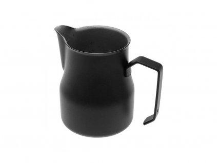 černá motta konvička na mléko