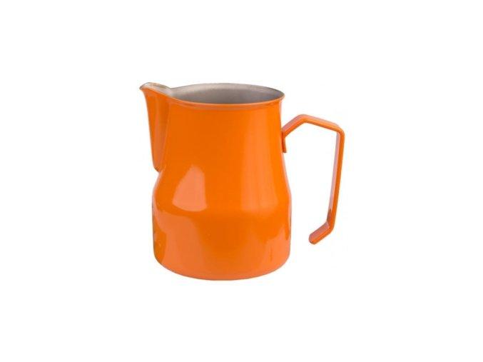 motta konvička na mléko oranžová