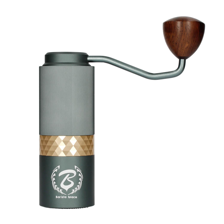 Barista Space ruční mlýnek na kávu zelený