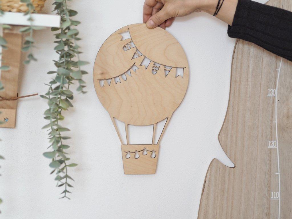 Dřevěný balón
