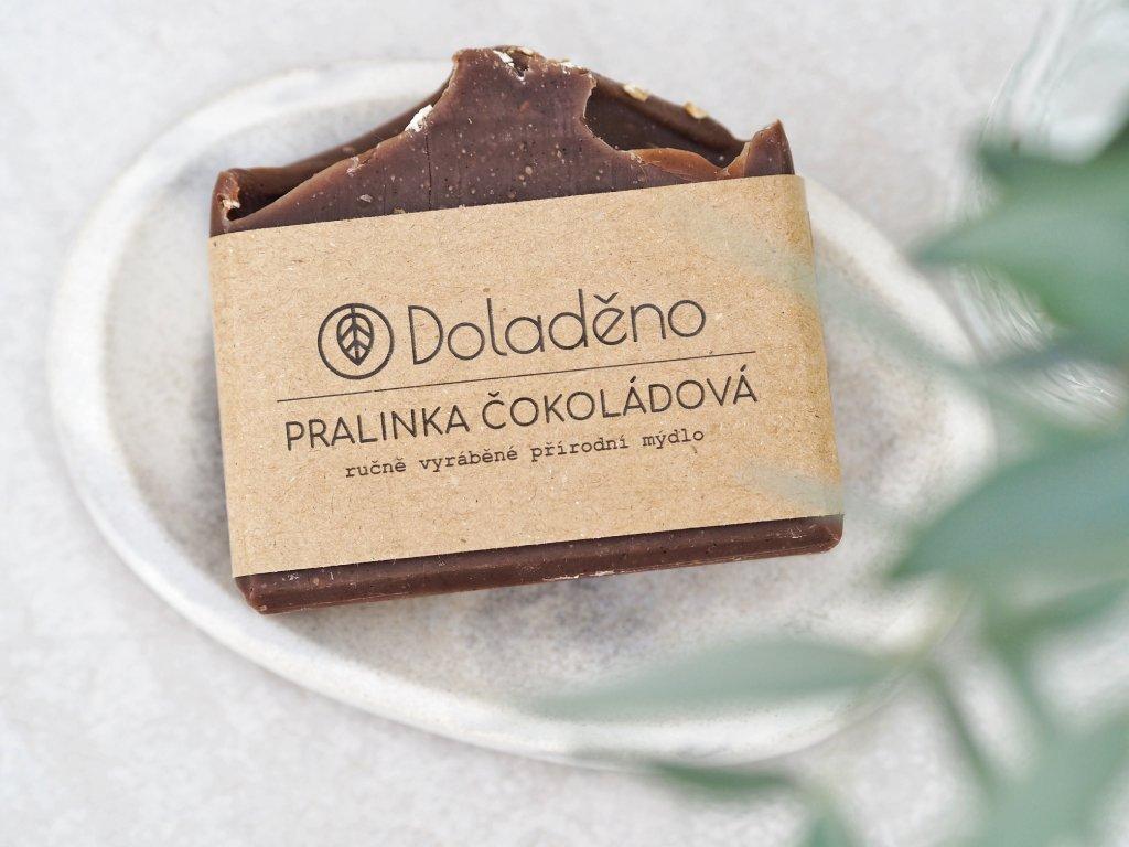 Mýdlo- pralinka čokoládová