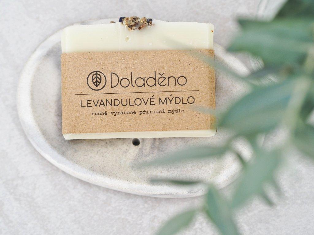 Mýdlo- levandulové