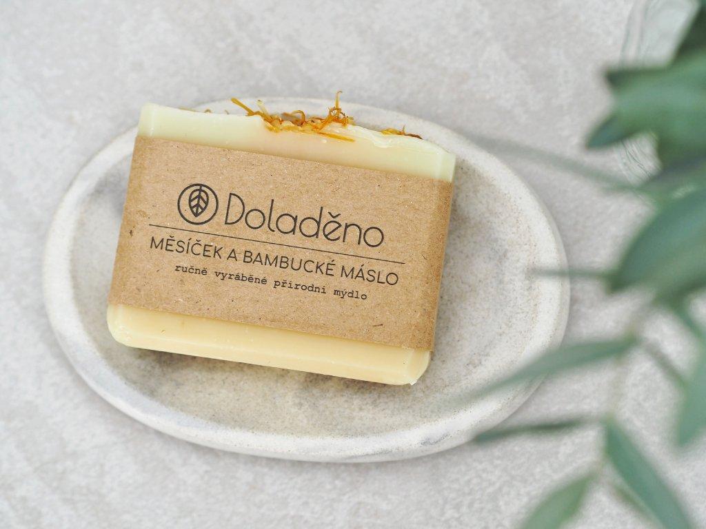 Mýdlo- měsíček a bambucké máslo