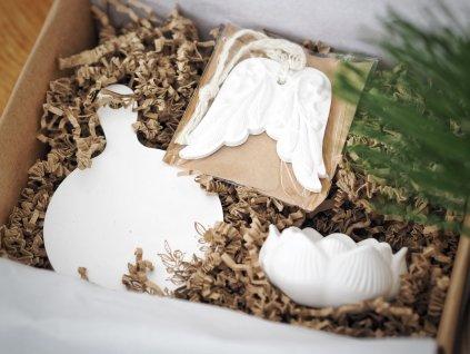 Vánoční balíček- Sněhobílý set