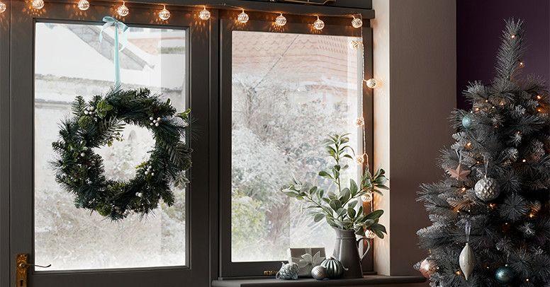 Vánoční ozdoby na okno - Inspirujte se