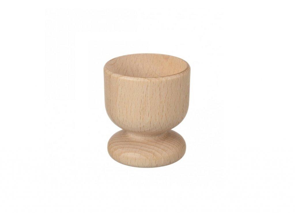 12980 dreveny kalisek na vejce 5 cm Doleo.cz