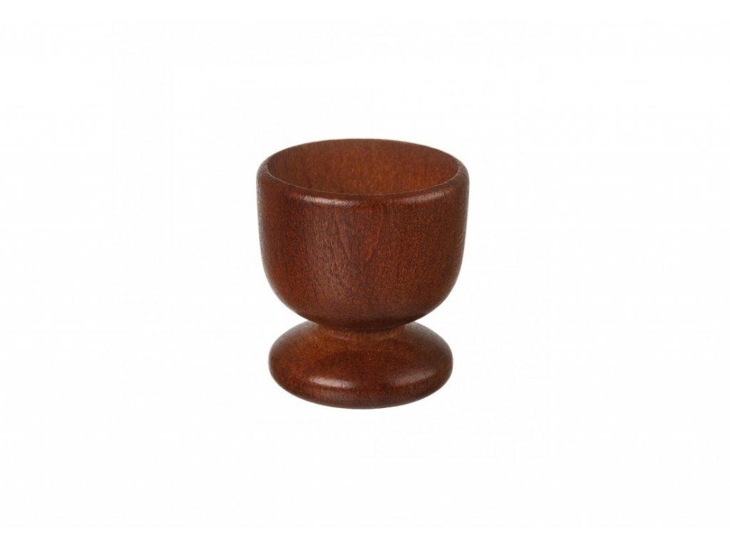 12995 dreveny kalisek na vejce 5 cm tmavy Doleo.cz