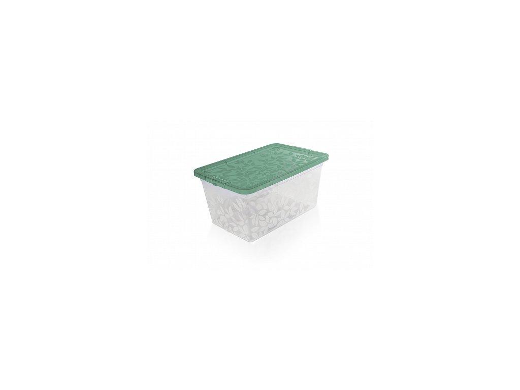 Jasmine - úložný kontejner/box s víkem 13 l Doleo.cz