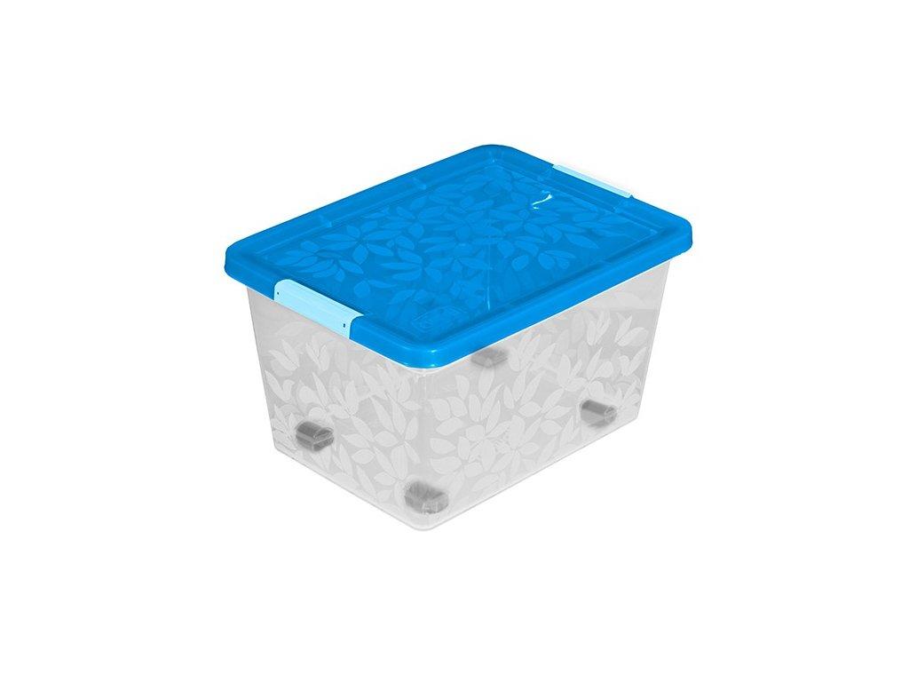Jasmine - úložný kontejner/box s víkem 55 l Doleo.cz