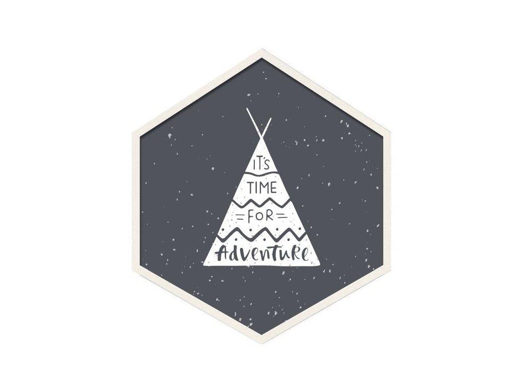 Obraz Hexagon Adventure 35 x 40 cm Doleo.cz