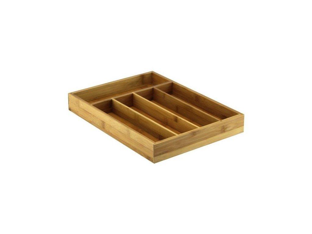 Organizér na příbory bambusový 35 x 26,5 cm   Doleo.cz