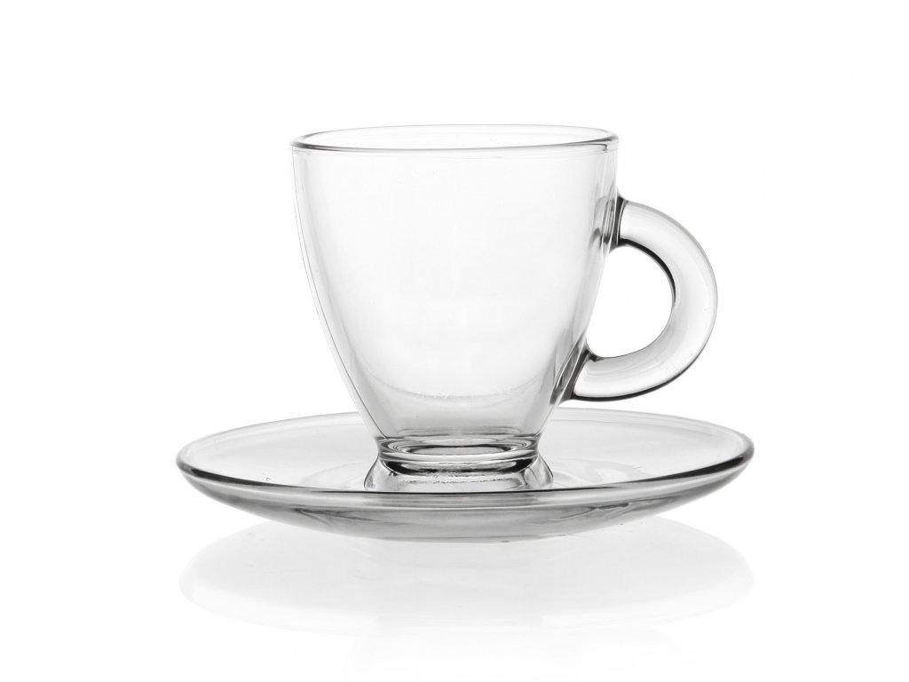 Šálek na espresso ROMA s podšálkem Doleo.cz
