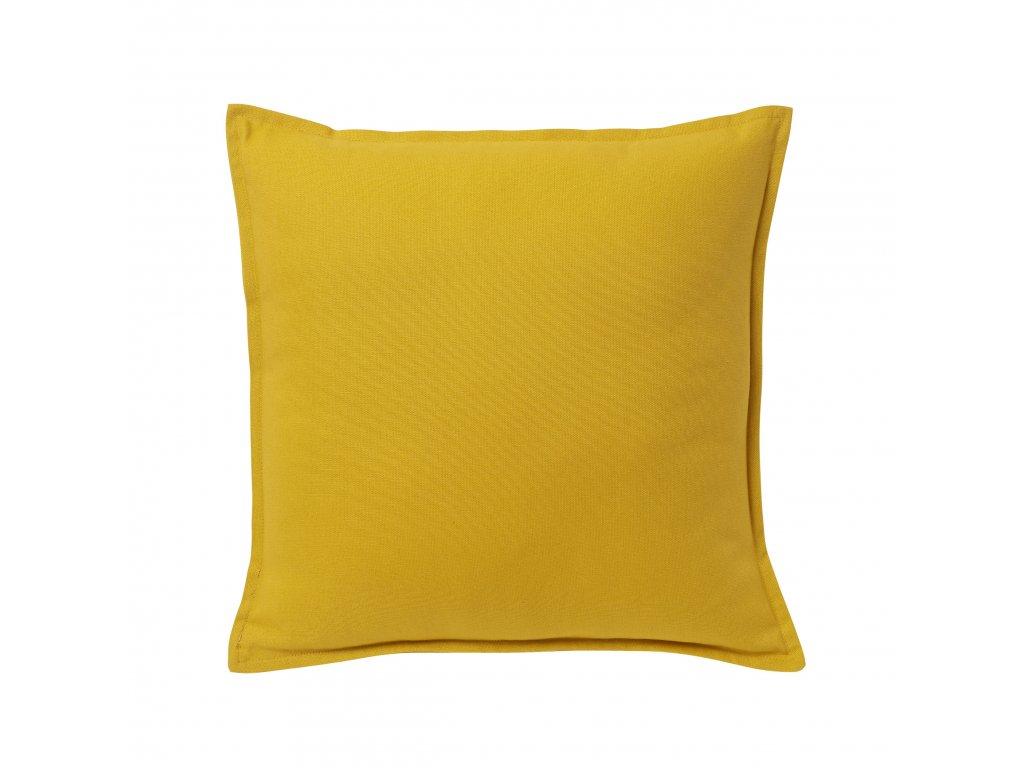 Polštář Hiva 45 x 45 cm Žlutý Doleo.cz