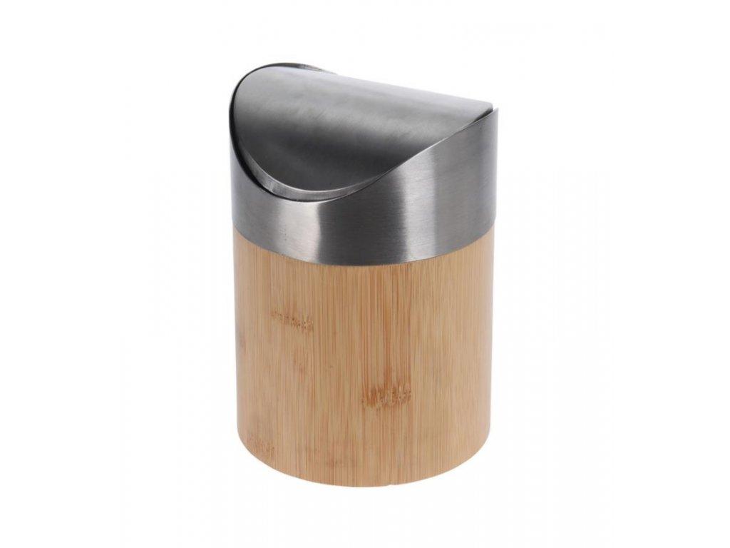 Bambusový odpadkový koš