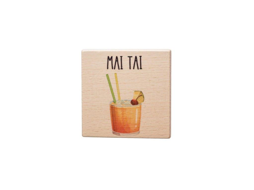 Dřevěný podtácek - Mai Tai