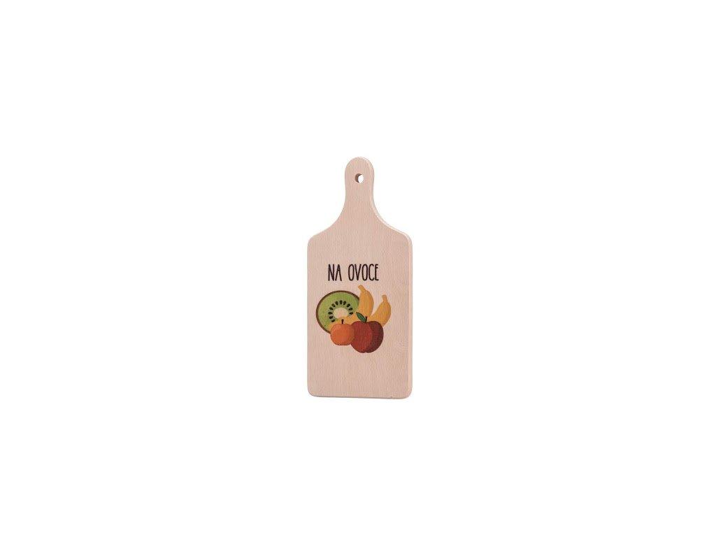 Prkénko s držadlem malé - Na ovoce
