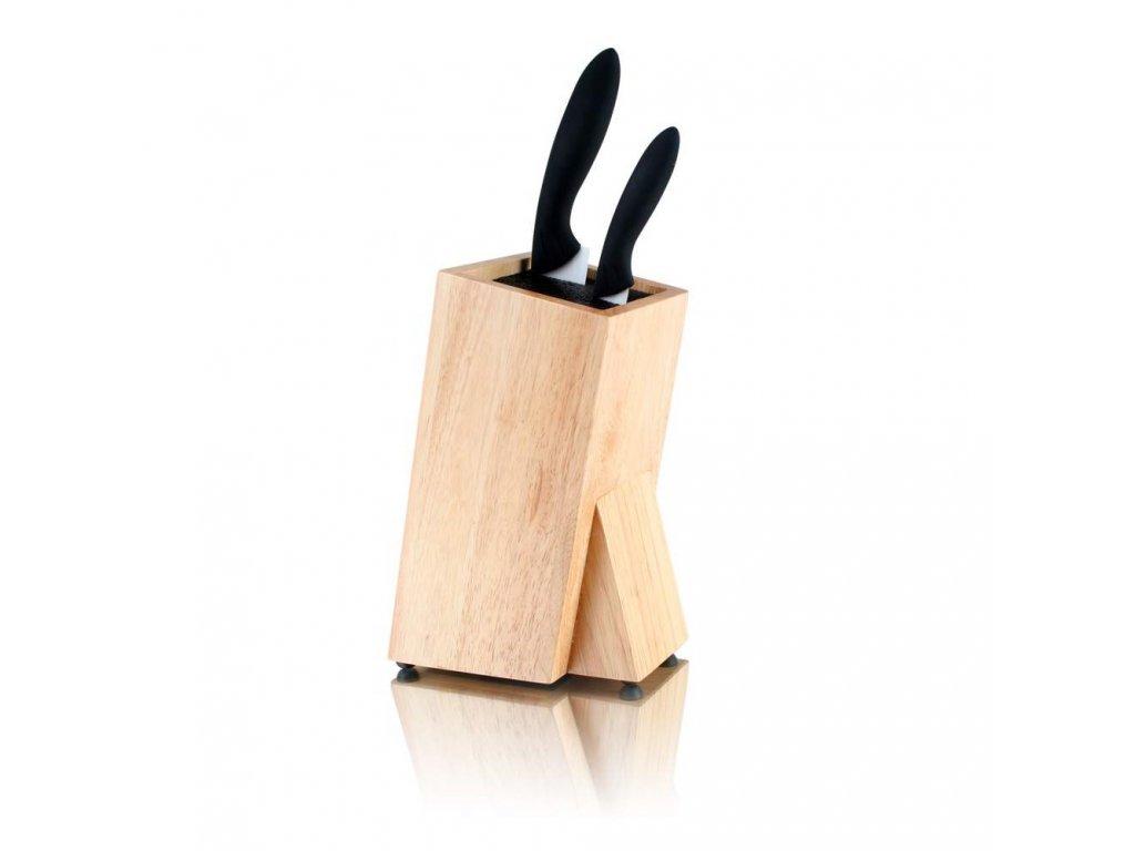 Dřevěný stojan na keramické nože