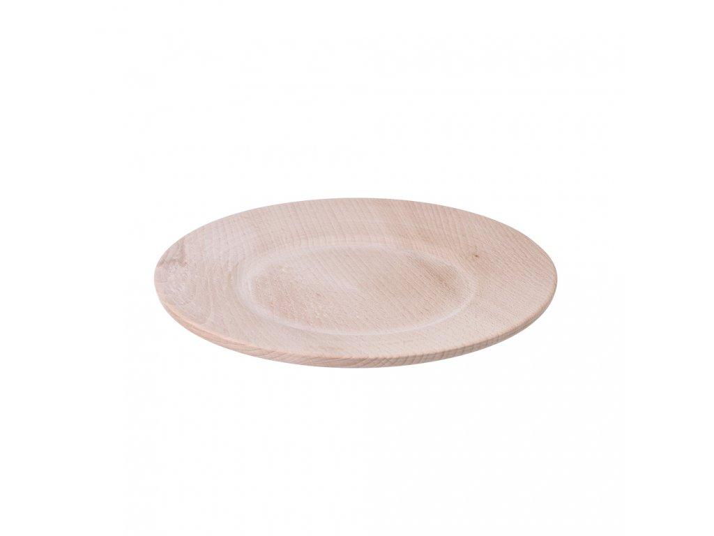 Stylový dřevěný talíř II - malý