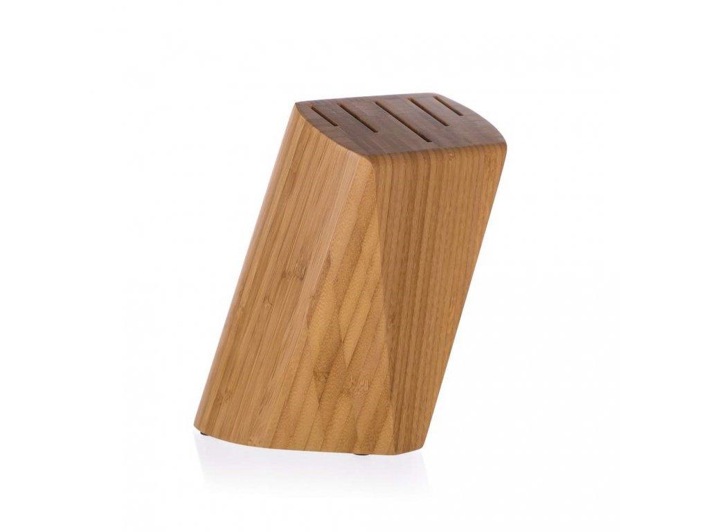 Bambusový stojan na nože BRILLANTE - 22 x 13,5 x 7 cm Doleo.cz