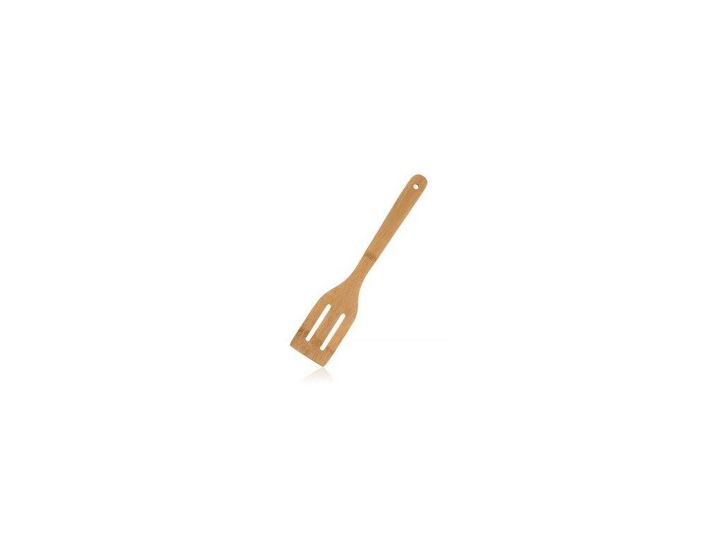 Bambusová obracečka s otvory BRILLANTE - 30 cm