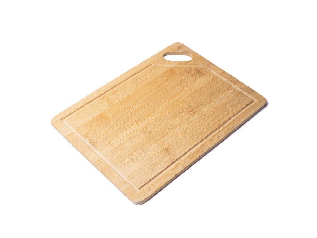Prkénko na krájení bambusové 38 x 28 x 1 cm Doleo.cz