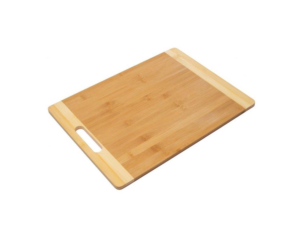Prkénko na krájení bambusové 40 x 30 x 1 cm |www.Doleo.cz