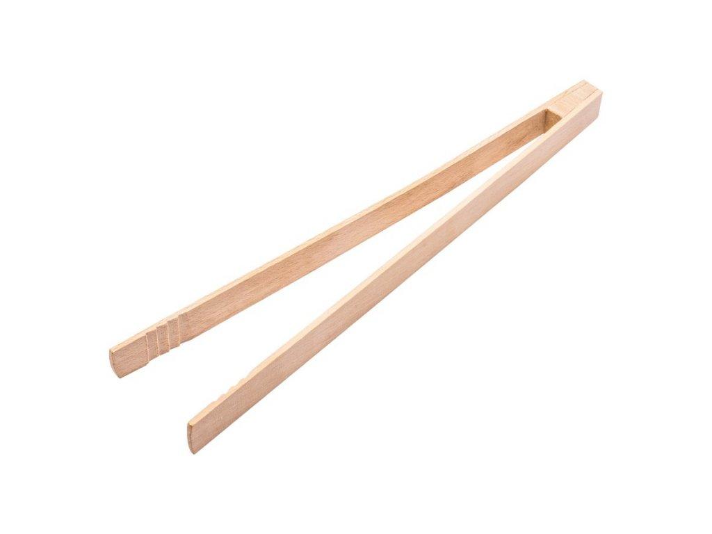 Kleště na grilování dřevěné 32 cm | www.doleo.cz