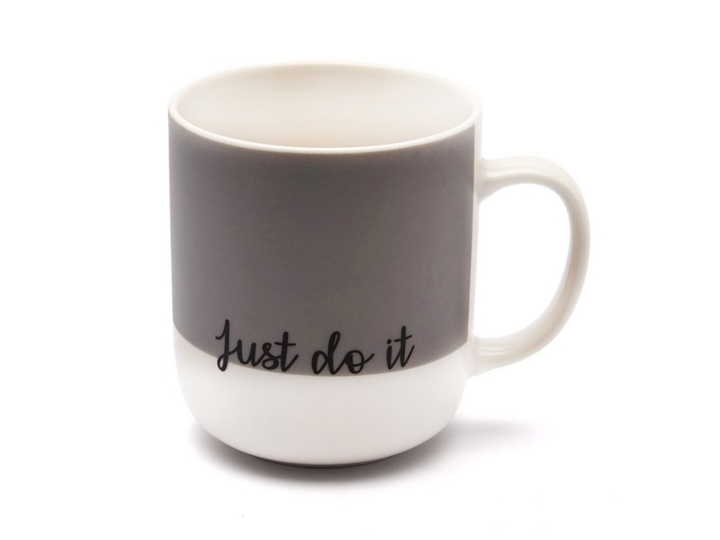 Porcelánový hrnek Just do it 430 ml Doleo.cz
