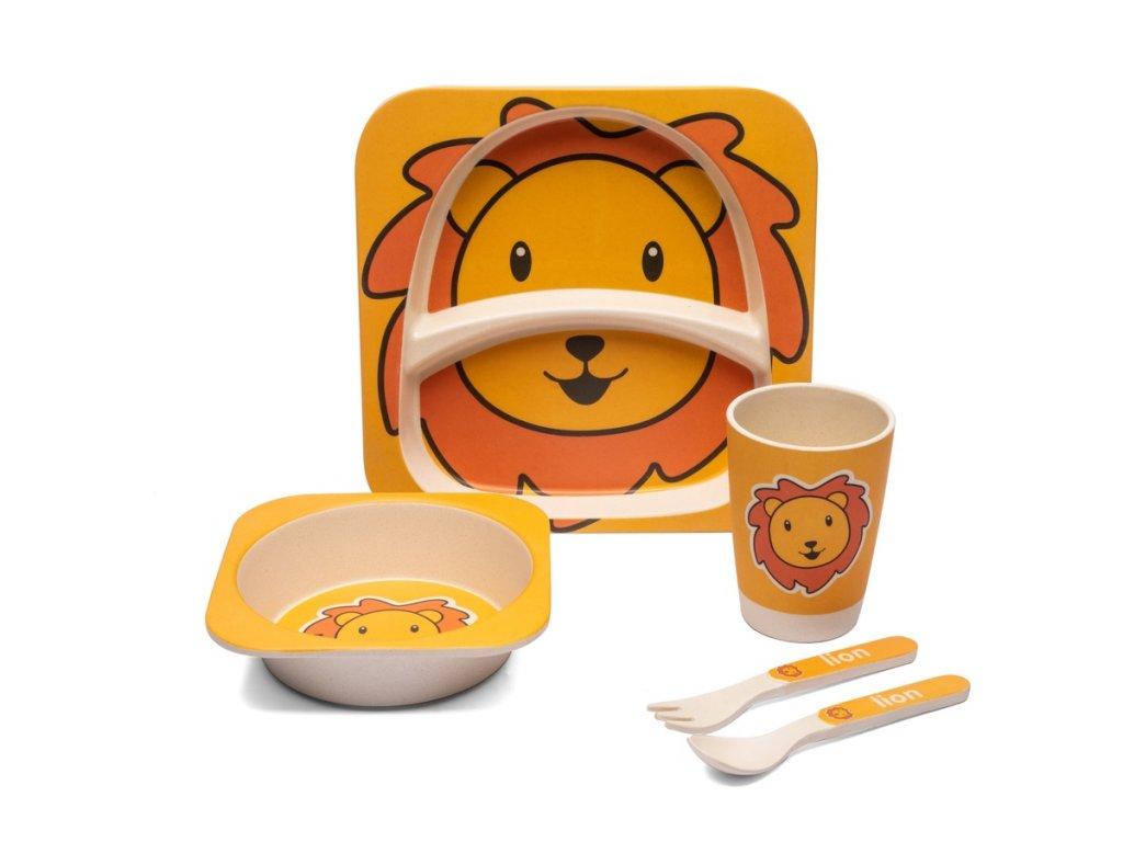 Dětská jídelní sada Lev - Doleo