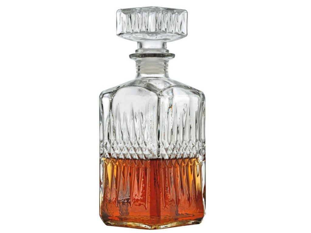 Karafa RED na whiskey 850ml - Doleo