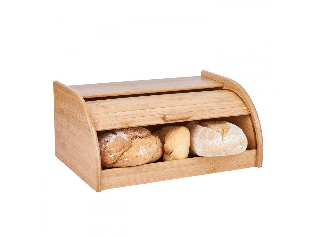 Chlebník z bambusovéh dřeva - světlý - Doleo