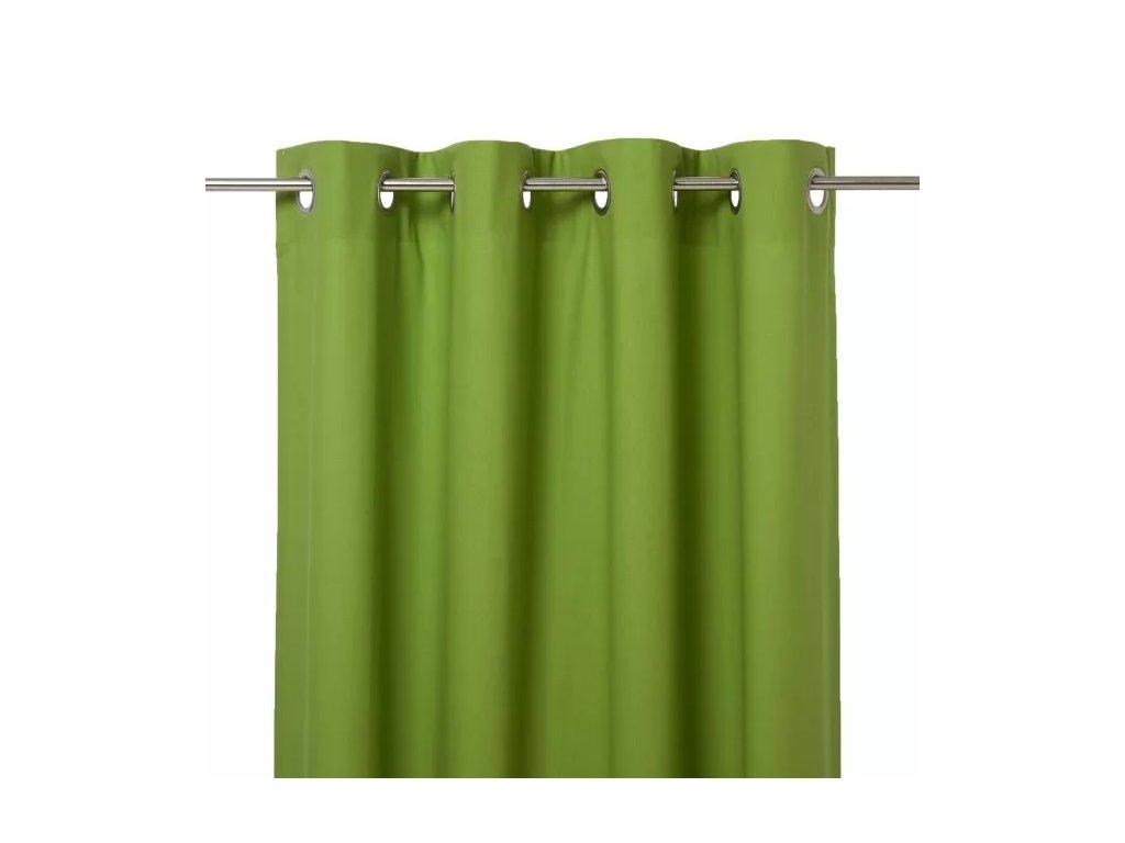 Závěs Hiva 140 cm x 260 cm - Zelená | Doleo.cz
