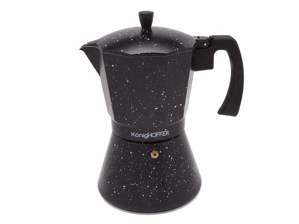 Moka konvice na espresso BLACK 720ml - 12 šálků   Doleo.cz