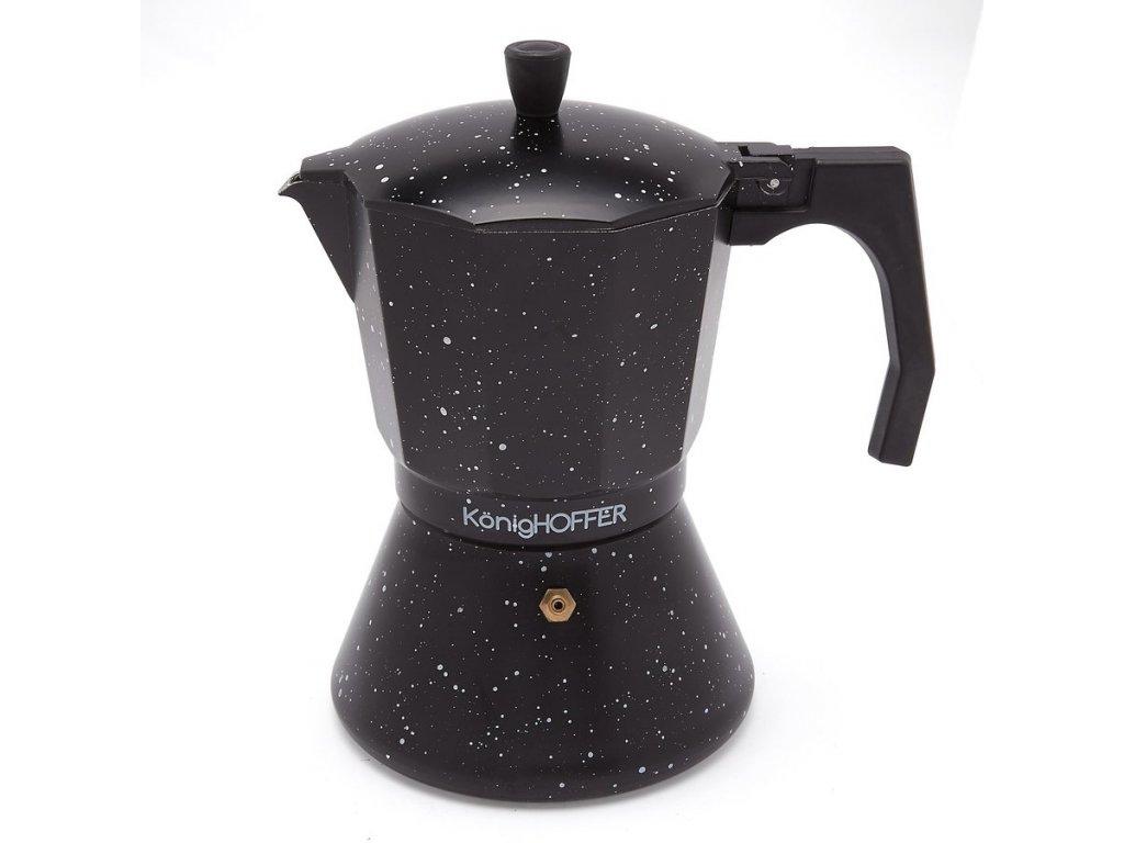 Moka konvice na espresso BLACK 450ml - 9 šálků   Doleo.cz
