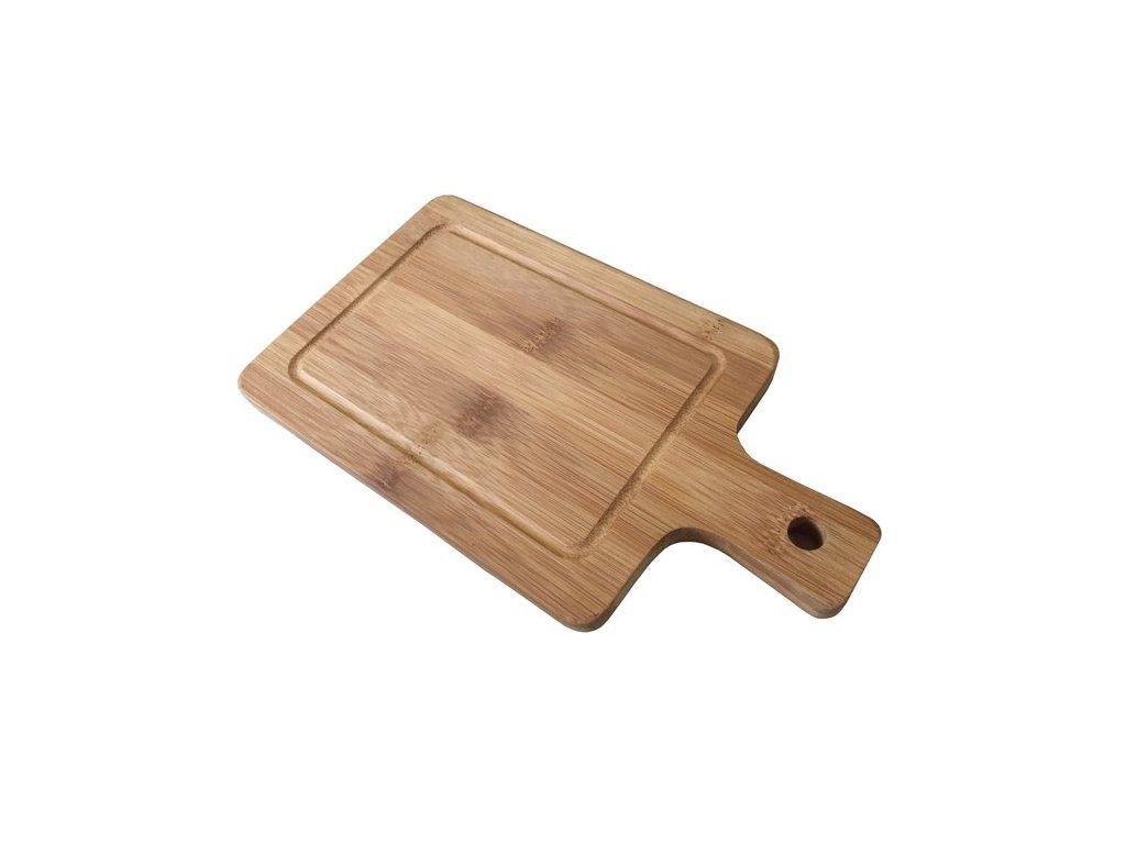 Stylové prkénko na krájení bambusové 25 x 14 x 1,4 cm   www.doleo.cz