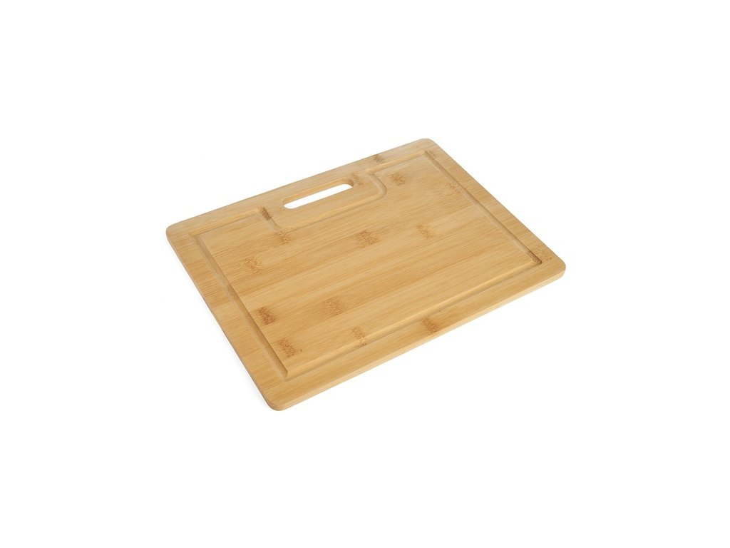 Bambusové prkénko s úchytem 30 x 22,3 x 1 cm | www.doleo.cz