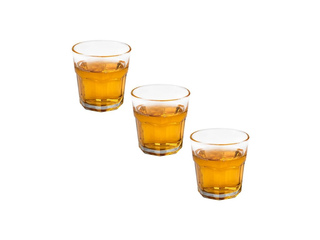 Whiskey sklenice Americano 3 ks - 200 ml | www.doleo.cz