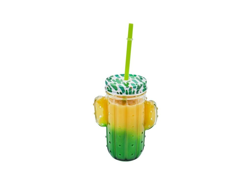 Sklenice kaktus 400 ml | www.doleo.cz