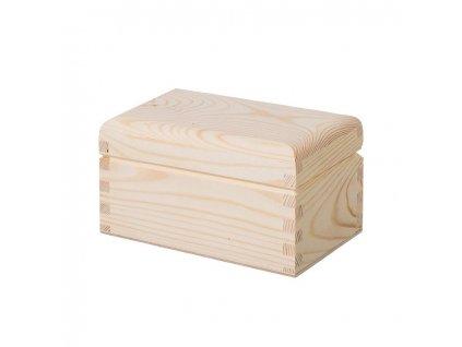 14042 drevena krabicka na caj 2 prihradky Doleo.cz