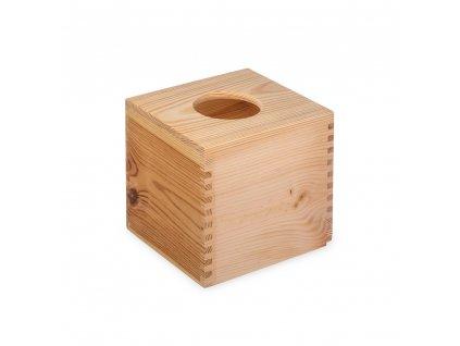 12254 1 drevena krabicka na kapesniky ctvercova Doleo.cz