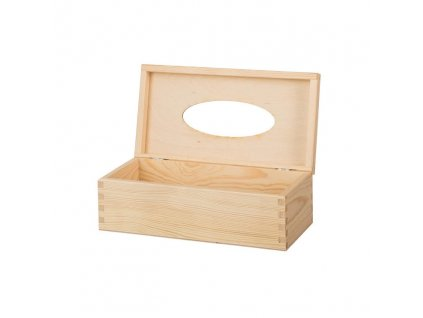 13796 drevena krabicka na kapesniky s panty Doleo.cz