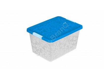 Jasmine - úložný kontejner/box s víkem 22 l Doleo.cz