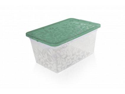 Jasmine - úložný kontejner/box s víkem 5,5 l Doleo.cz