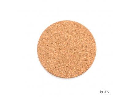 14822 orion korkovy podtacek kulaty pr 9 5 cm 6 ks Doleo.cz