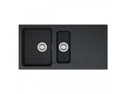 Kuchyňský dřez Orion OID 651 510 x 1000 Černý