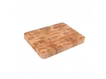 13331 masivni krajeci deska cube 40 x 30 x 4 cm Doleo.cz