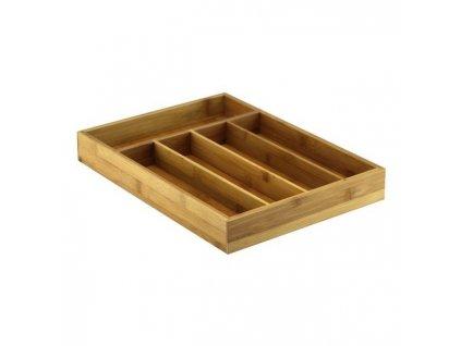 Organizér na příbory bambusový 35 x 26,5 cm | Doleo.cz