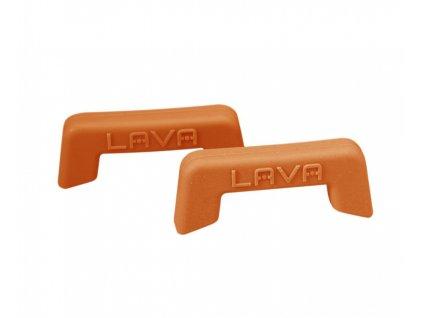 Silikonové úchyty oranžové 2ks LAVA Metal na www.doleo.cz